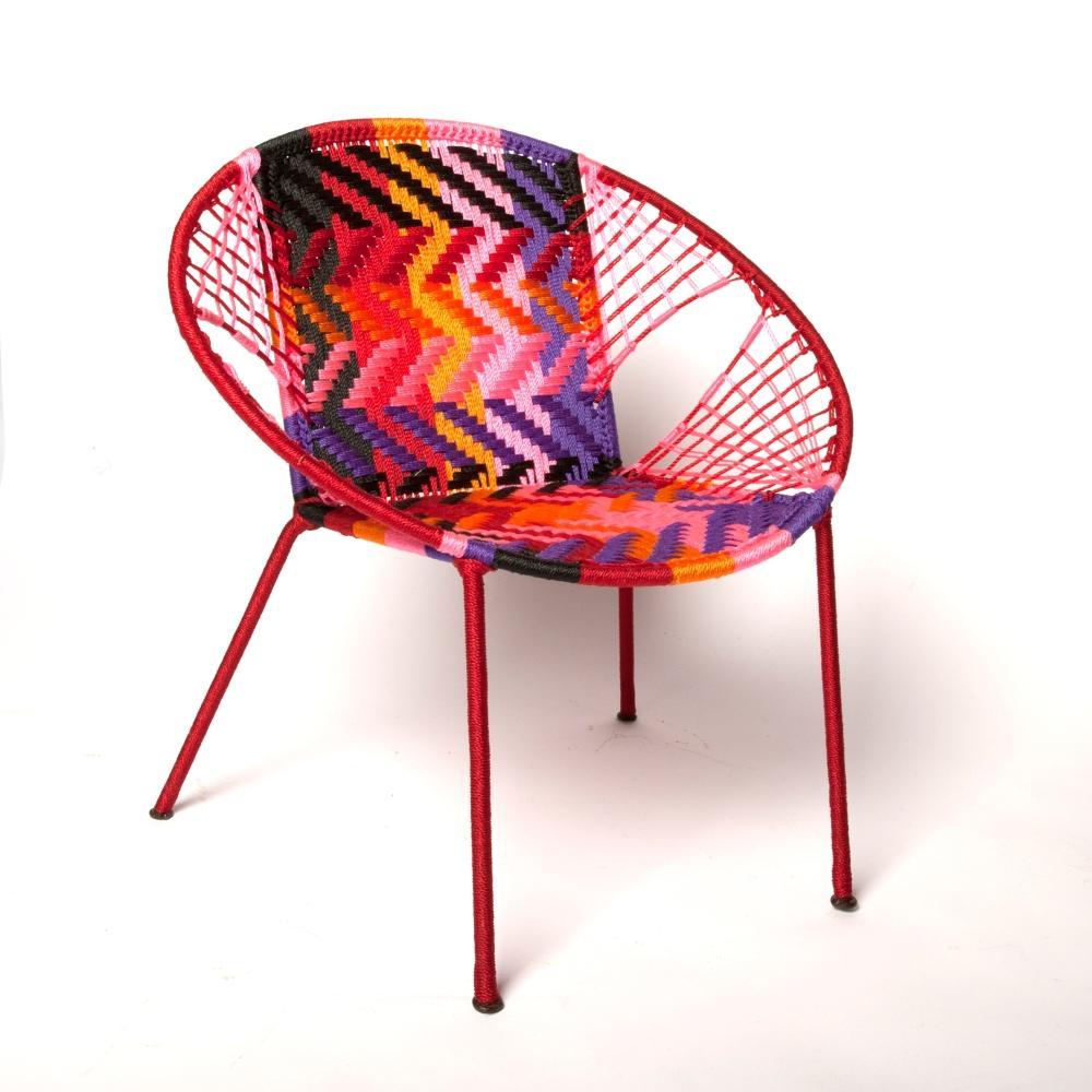 chaise scoubidou keur boutique. Black Bedroom Furniture Sets. Home Design Ideas