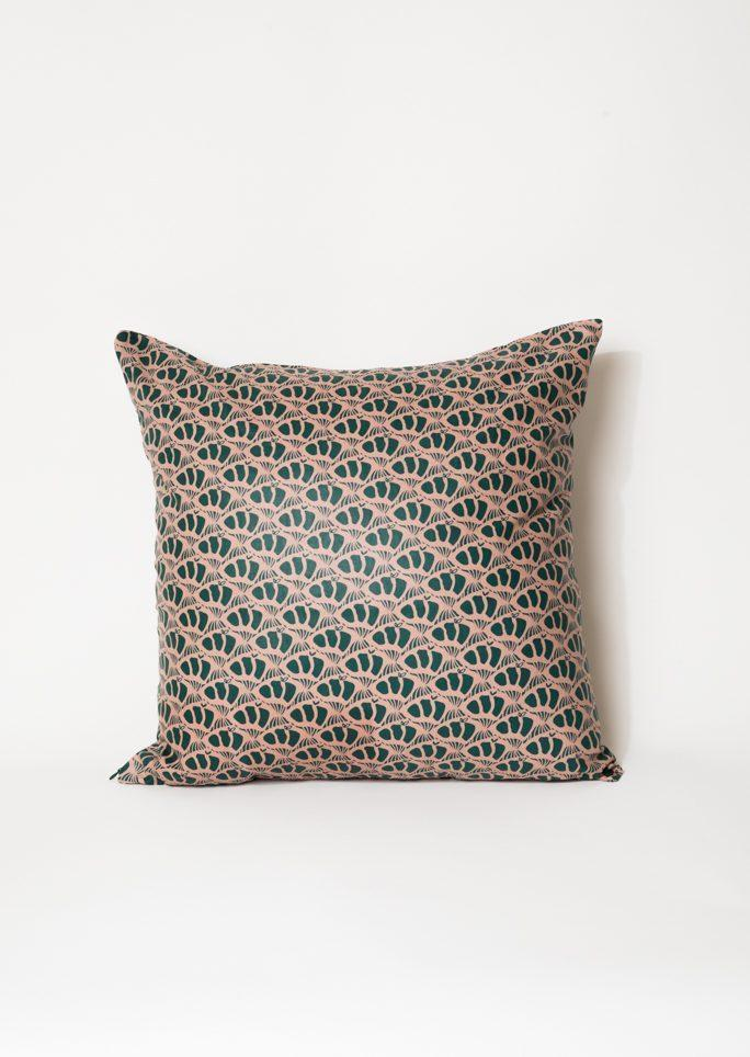 Housse de coussin Wax motifs