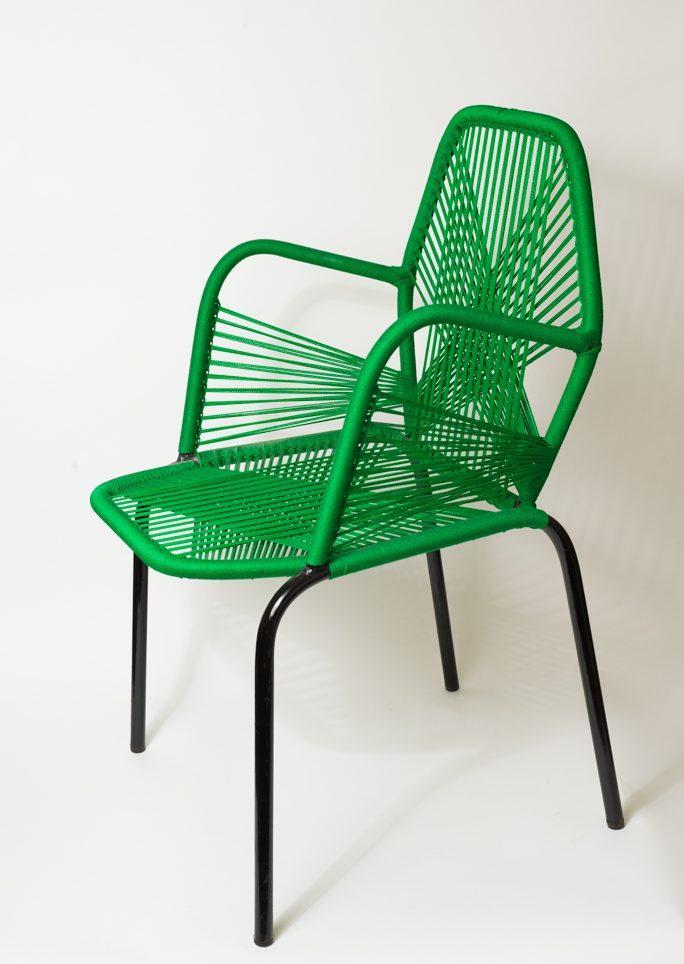 Chaise adulte verte