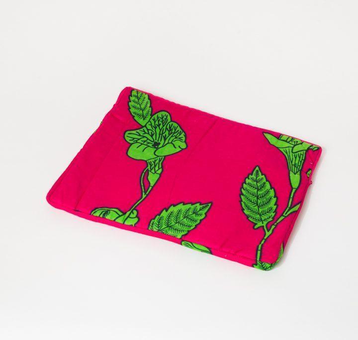 Pochette iPad rose