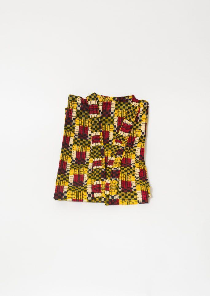Robe de chambre adulte jaune