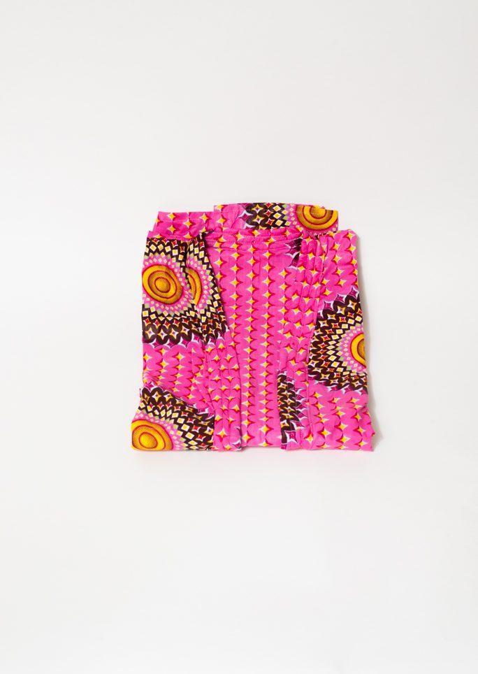 Robe de chambre adulte rose