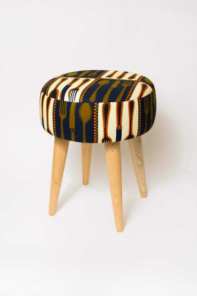Tabouret Wax Couverts